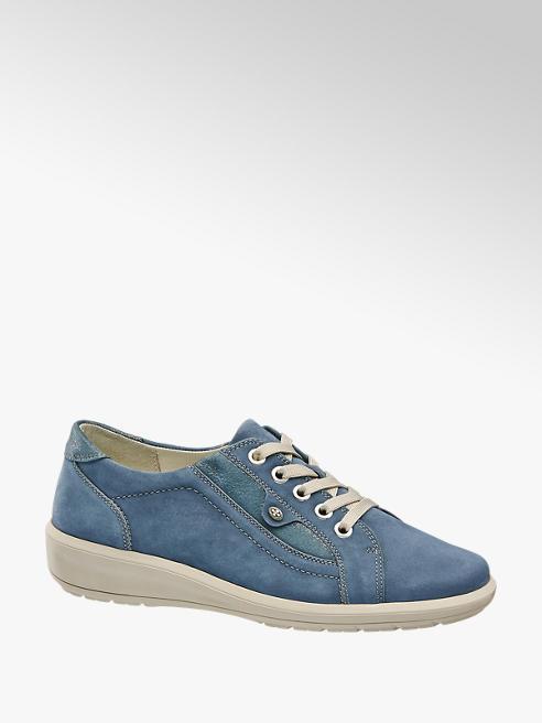Medicus Blauwe leren sneaker