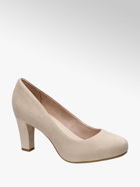 5th Avenue Beige pump suede