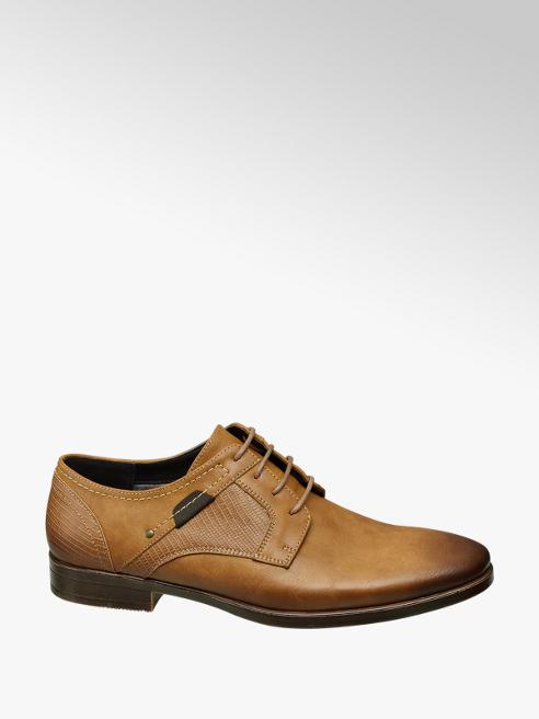 Venice Bruine geklede schoen