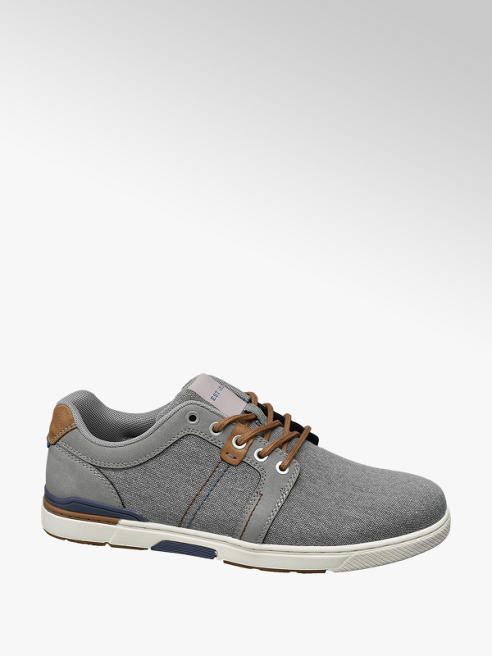 Memphis One Grijze canvas sneakers