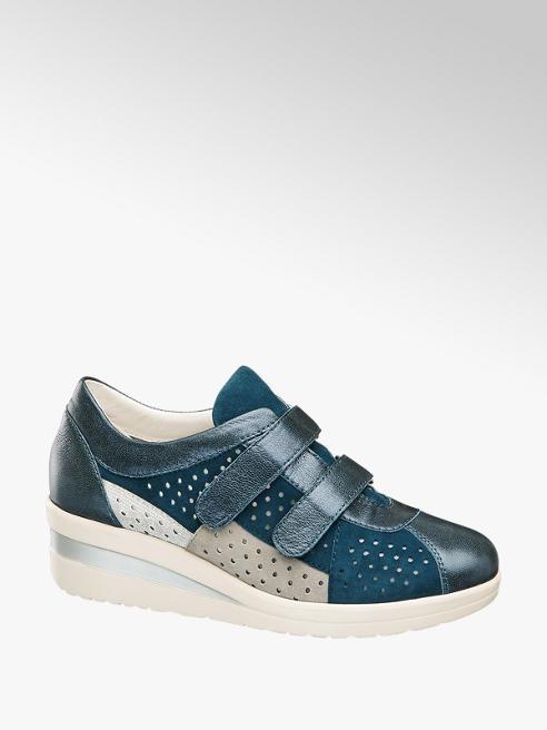 Medicus Sneaker confort piel con cuña
