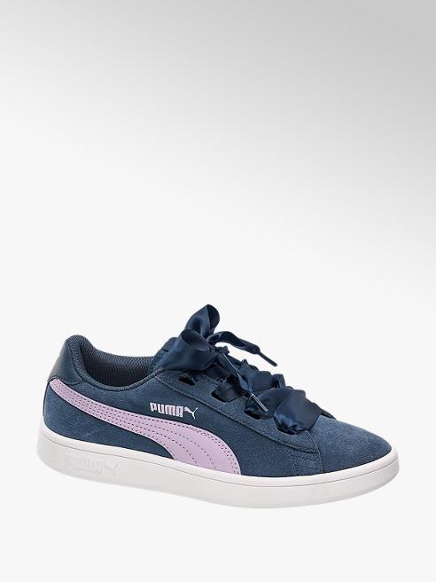 Puma Pantofi cu sireturi pentru fete SMASH RIBBON JR