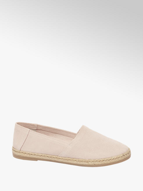5th Avenue Lichtroze espadrille instapper
