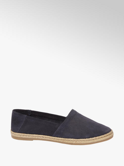 5th Avenue Blauwe espadrille instapper