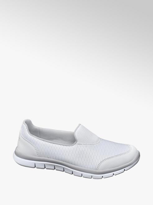 Venice Witte sneaker memory foam