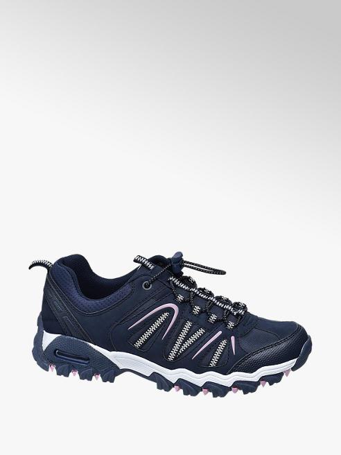 Landrover Donkerblauwe wandelschoen elastiek