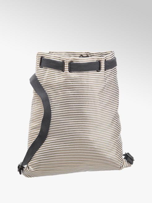 Venice Wit/zilveren rugzak