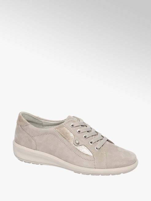 Medicus Zandkleurige leren sneaker
