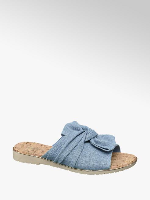 Graceland Blauwe sandaal strik
