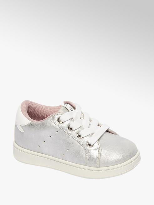 Cupcake Couture Zilveren sneaker ritssluiting