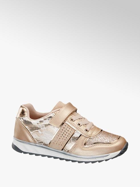 Graceland Rosé sneaker metallic
