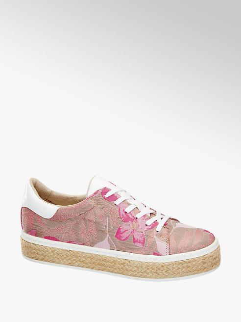 Catwalk Sneaker con suola alta