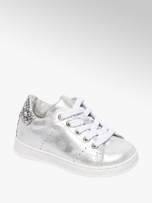 Cupcake Couture Zilveren sneaker steentjes