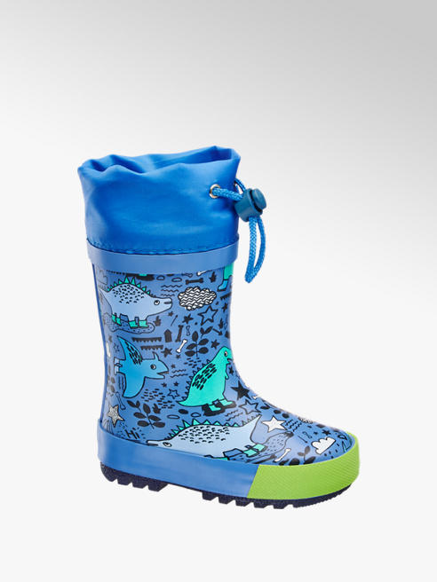 Cortina Blauwe regenlaars print