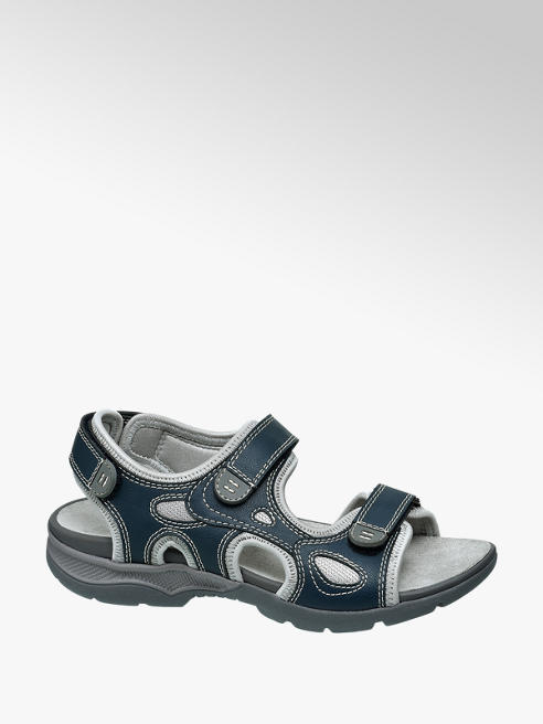 Björndal Blauwe sandaal velcro