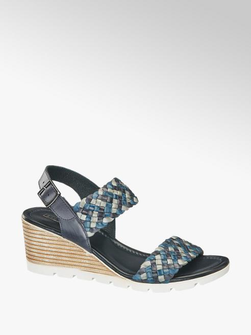 5th Avenue Дамски сандалети с клиновиден ток