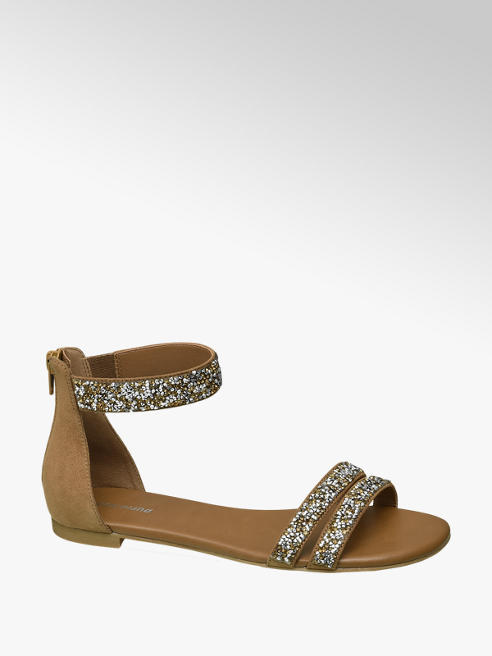Graceland Sandaletto con strass