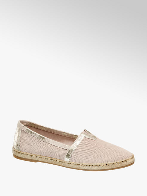 5th Avenue Espadrillas rosa pastello