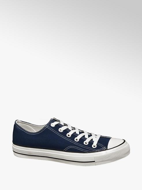 Vty Blauwe canvas sneaker