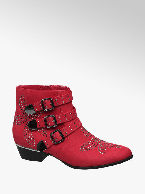Catwalk Studded Ankle Boot