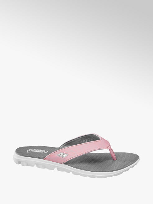 Skechers Roze teenslipper