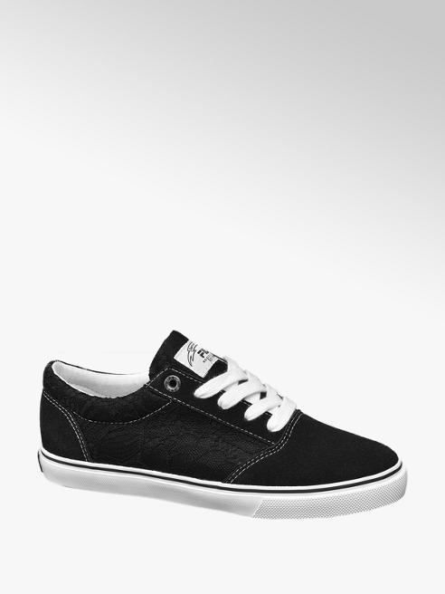 Fila Zwarte sneaker met kant