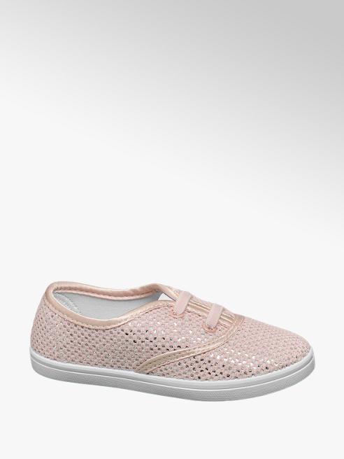 Cupcake Couture Roze sneaker metallic