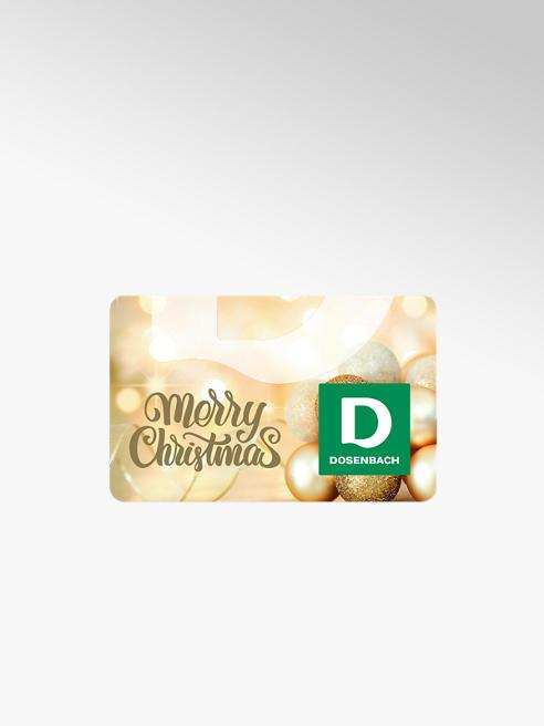 Dosenbach Carte cadeau Merry Christmas