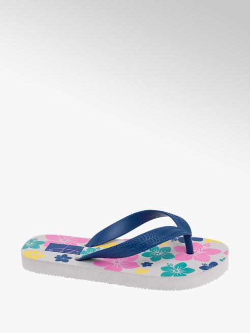 Blue Fin Junior Girl Toe-Post Flip Flops