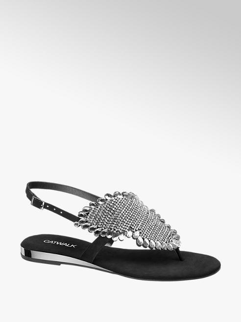 Catwalk Sandale s kristalčki