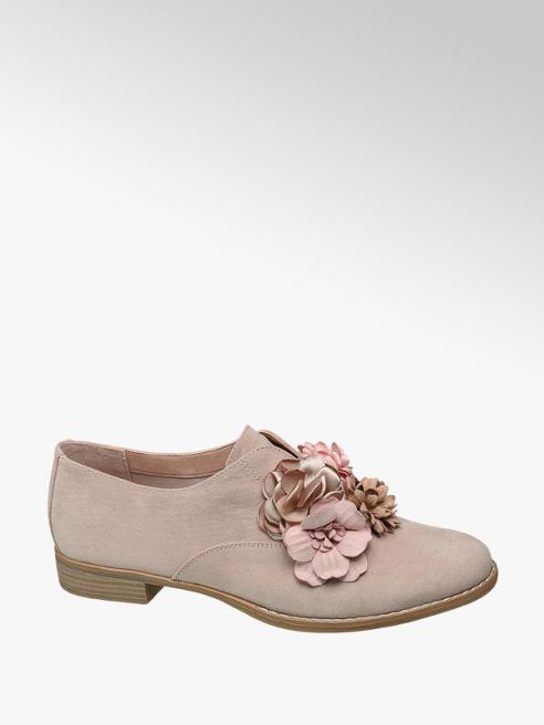 Graceland Roze instapper bloem