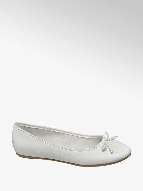 Graceland Witte ballerina strik