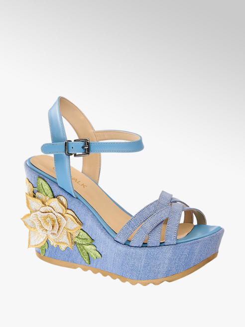 Catwalk Dolgu Topuk Ayakkabı