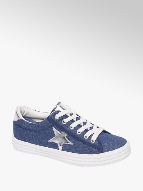 Graceland Blauwe sneaker ster