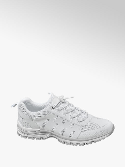 Landrover Witte sneaker flyknit