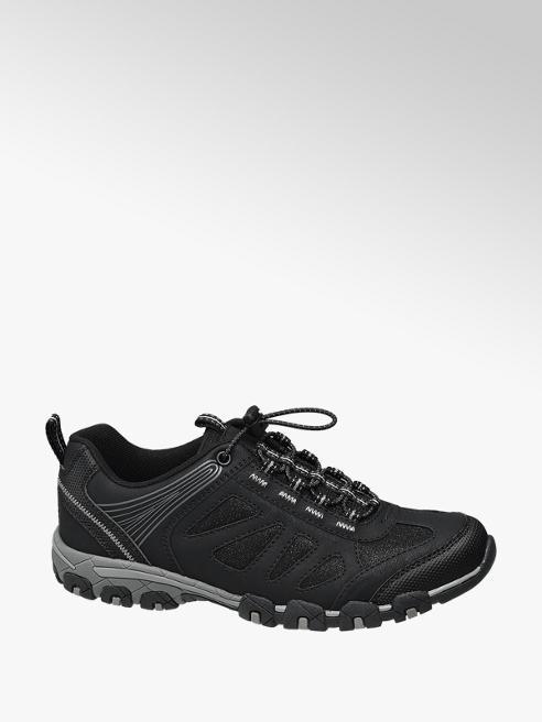 Landrover Zwarte sneaker elastieksluiting
