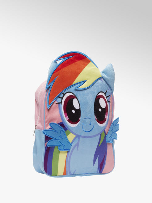 My little Pony Blauwe rugzak plush my little pony