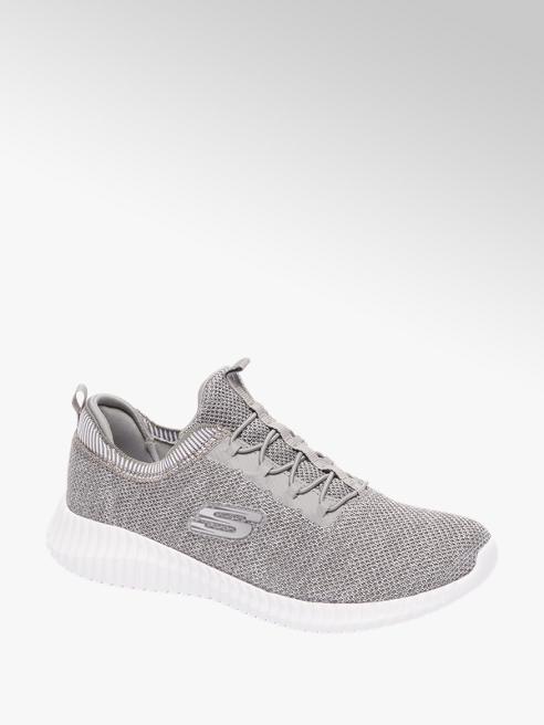 Skechers Grijze knitted sneaker memory foam