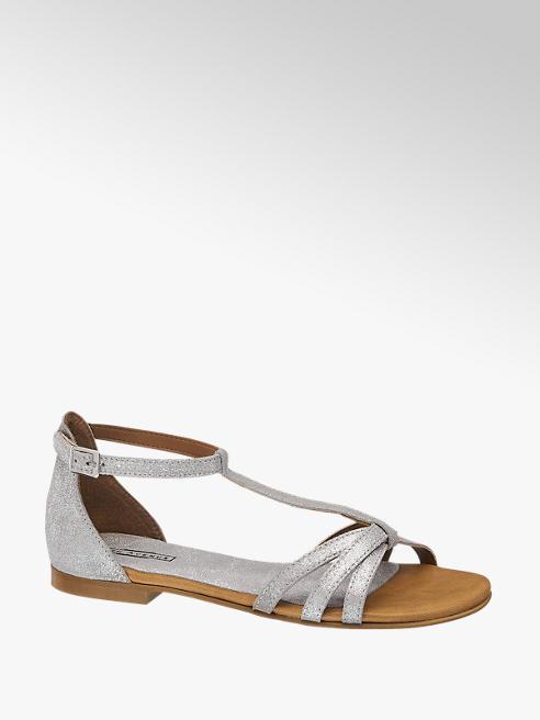 5th Avenue Kadın Gümüş Sandalet
