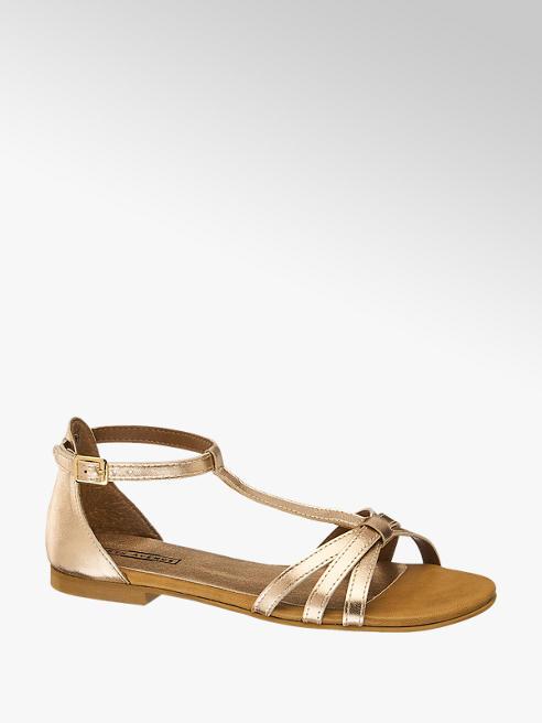 5th Avenue Kadın Rose Gold Sandalet