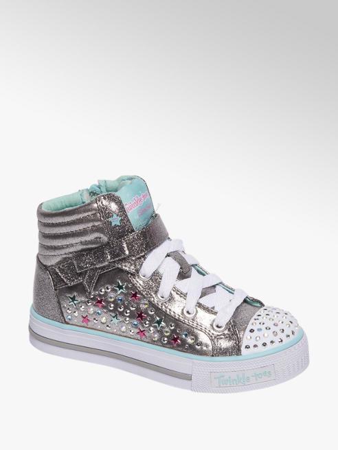 Skechers Zilveren sneaker glitters