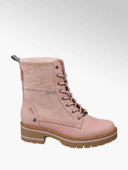 Bench Roze veterboot