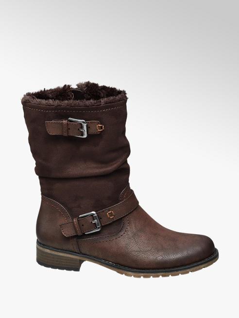 Graceland Bruine boot siergespen