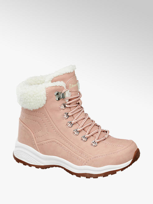 Landrover Roze warm gevoerde wandelschoen