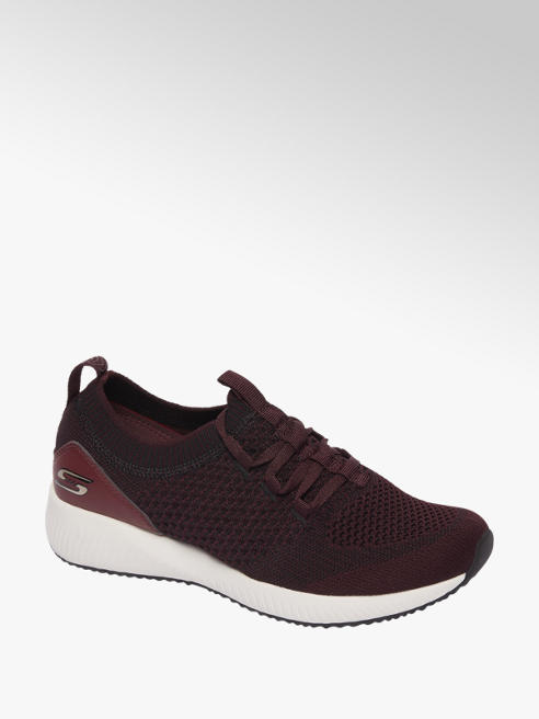Skechers Bordeaux knitted sneaker memory foam
