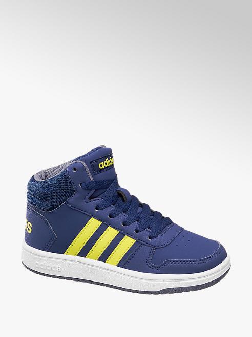 adidas Pantofi cu sireturi pentru baieti HOOPS MID 2.0