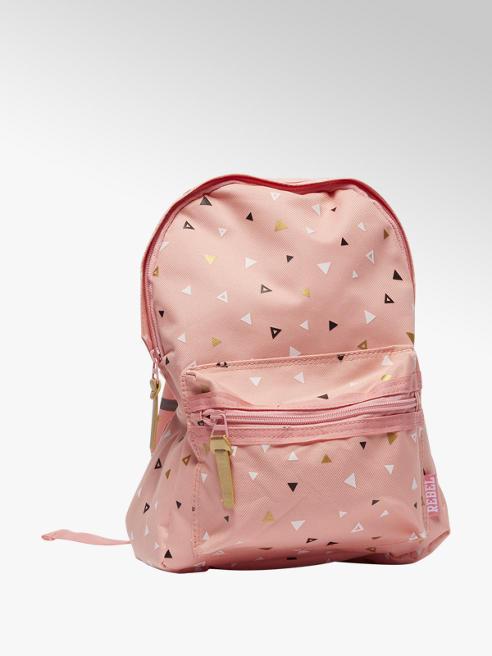 Roze rugzak print