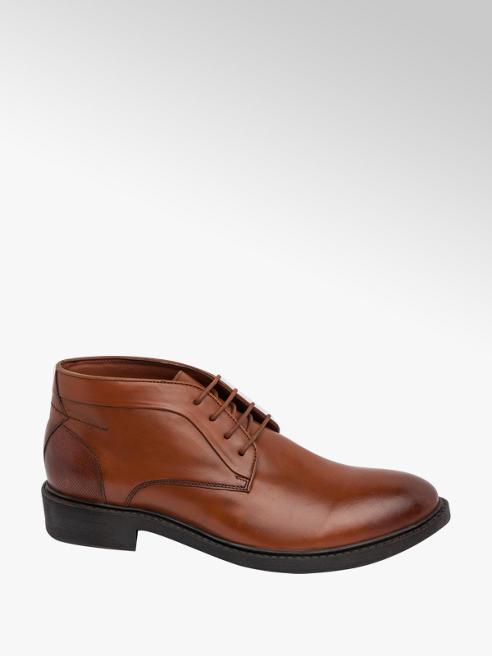 AM SHOE Mens Formal Lace-up Boots