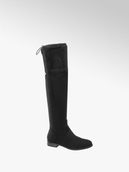 Tom Tailor Damen Stiefel Overknee