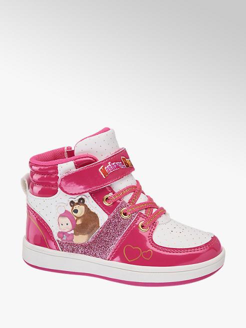 Masha and the bear Sneaker de caña alta